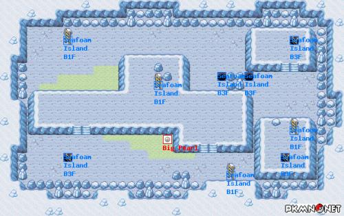 Pokemon How To Get Through Seafoam Island