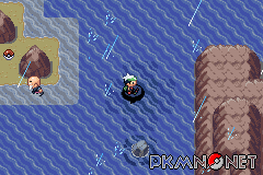 how to get kyogre in emerald route 129